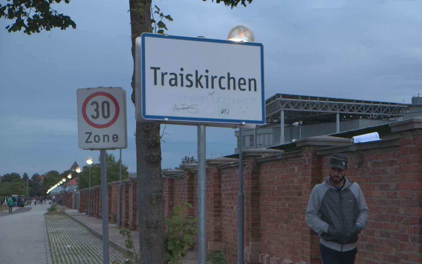 Traiskirchen refugee camp in Austria was built to accommodate 1,800 people - but is currently housing more than twice that number
