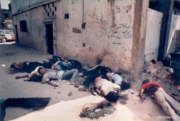 From Sabra and Shatila massacre