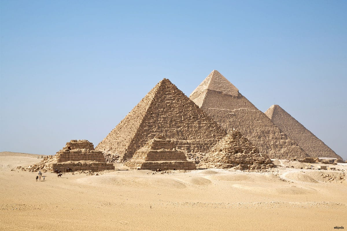 The Pyramids of Giza [Wikipedia]
