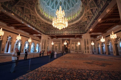 Sultan Qaboos Grand Mosque, Muscat [Allan Grey/Flickr]