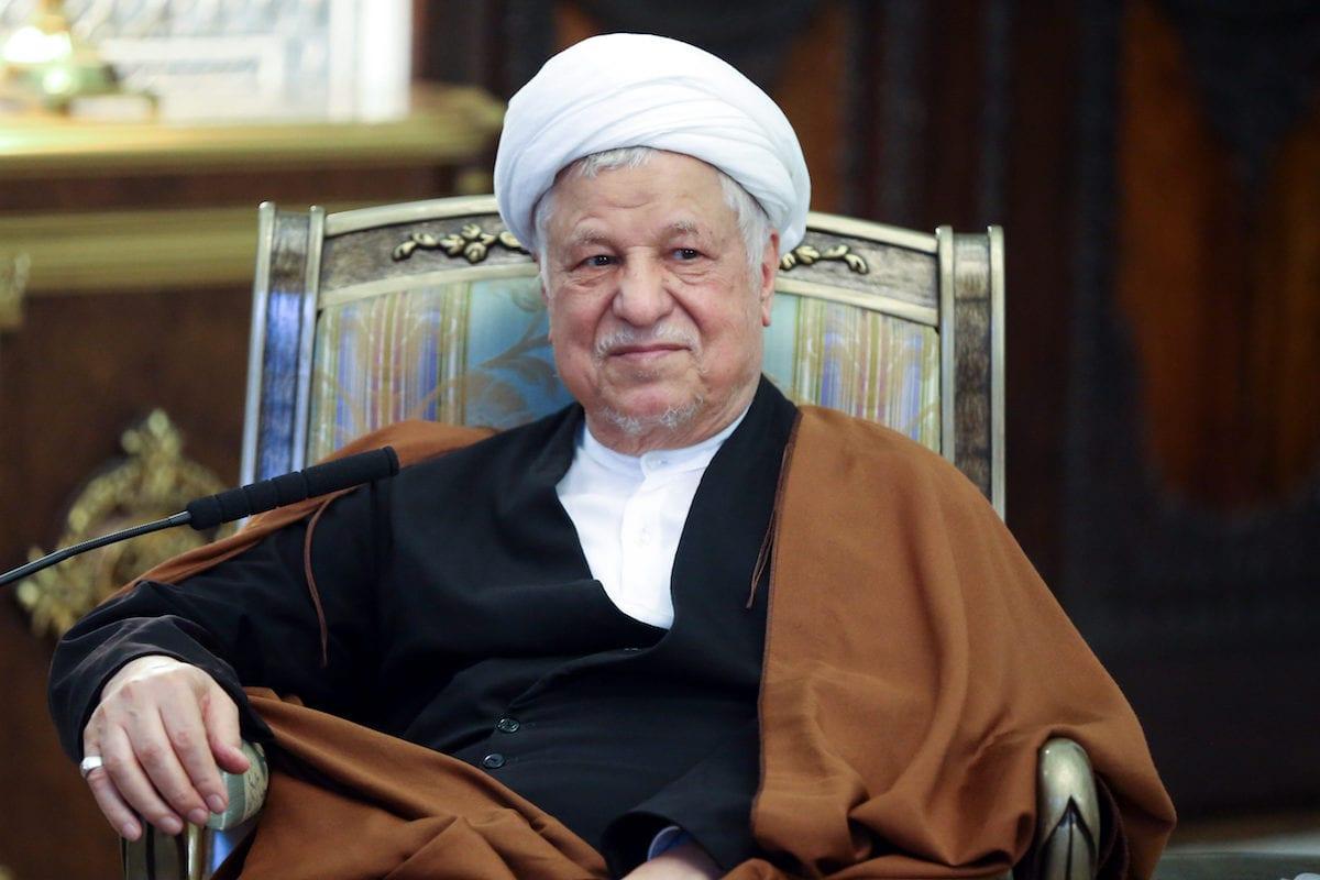 Former Iranian President Akbar Hashemi Rafsanjani passed away at the age of 82 at a hospital in Tehran on Sunday [Fatemeh Bahrami / Anadolu Agency]