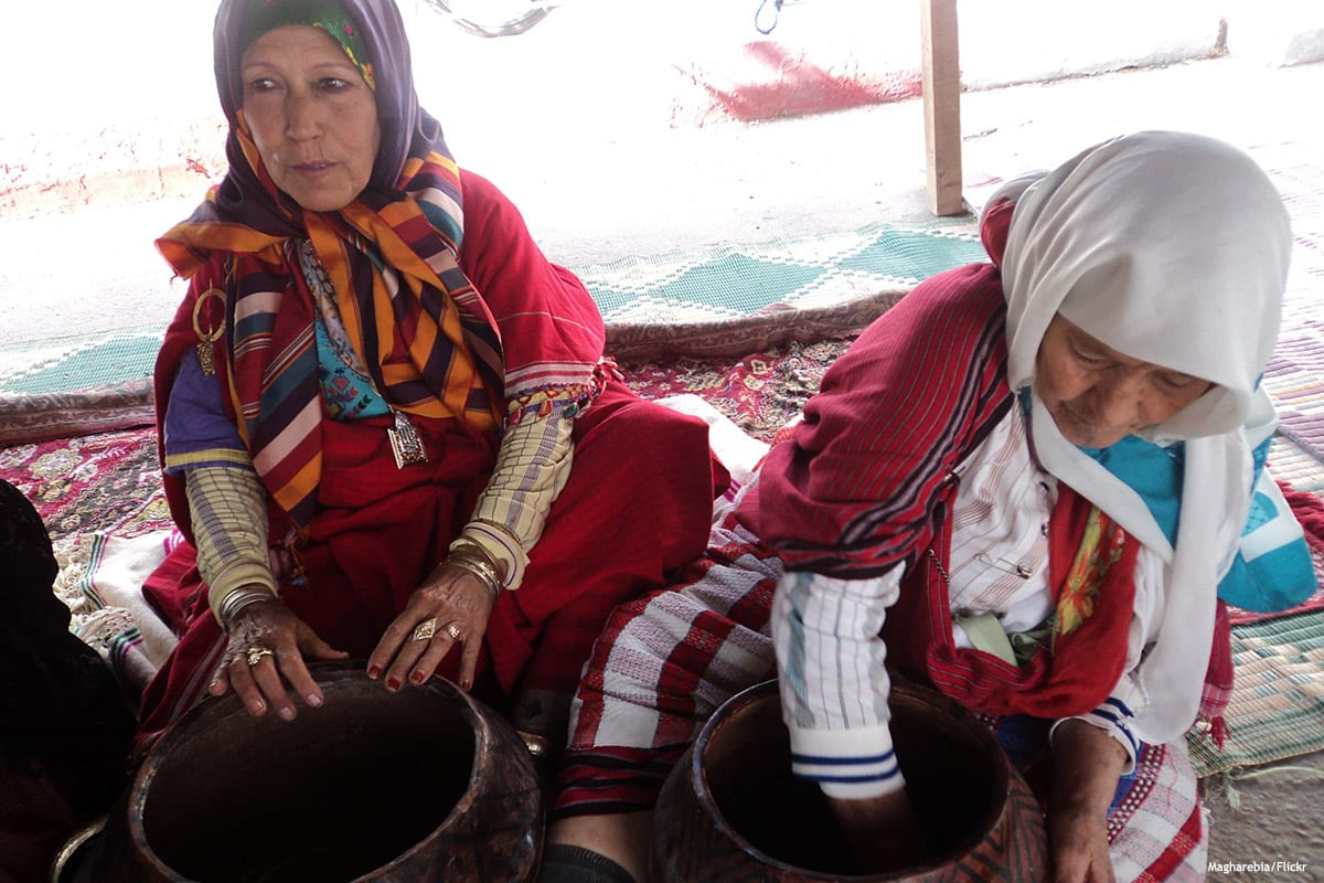 Image of Tunisian women preparing food [Magharebia/Flickr]