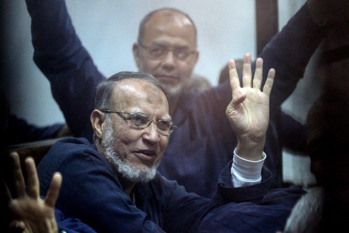 BREAKING: Senior Muslim Brotherhood official dies in Egypt jail