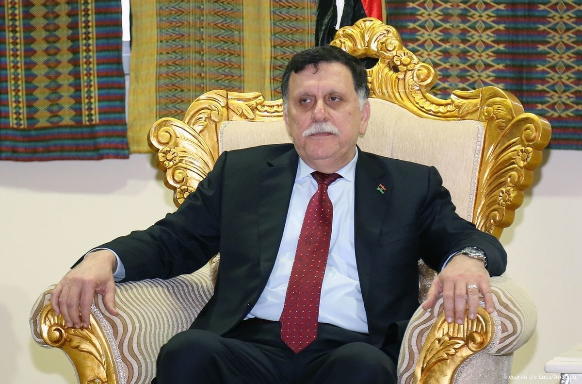 Image of Fayez al-Sarraj, Prime Minister of the Government of National Accord of Libya on 6 February 2017 [Minasse Wondimu Hailu/Anadolu Agency]
