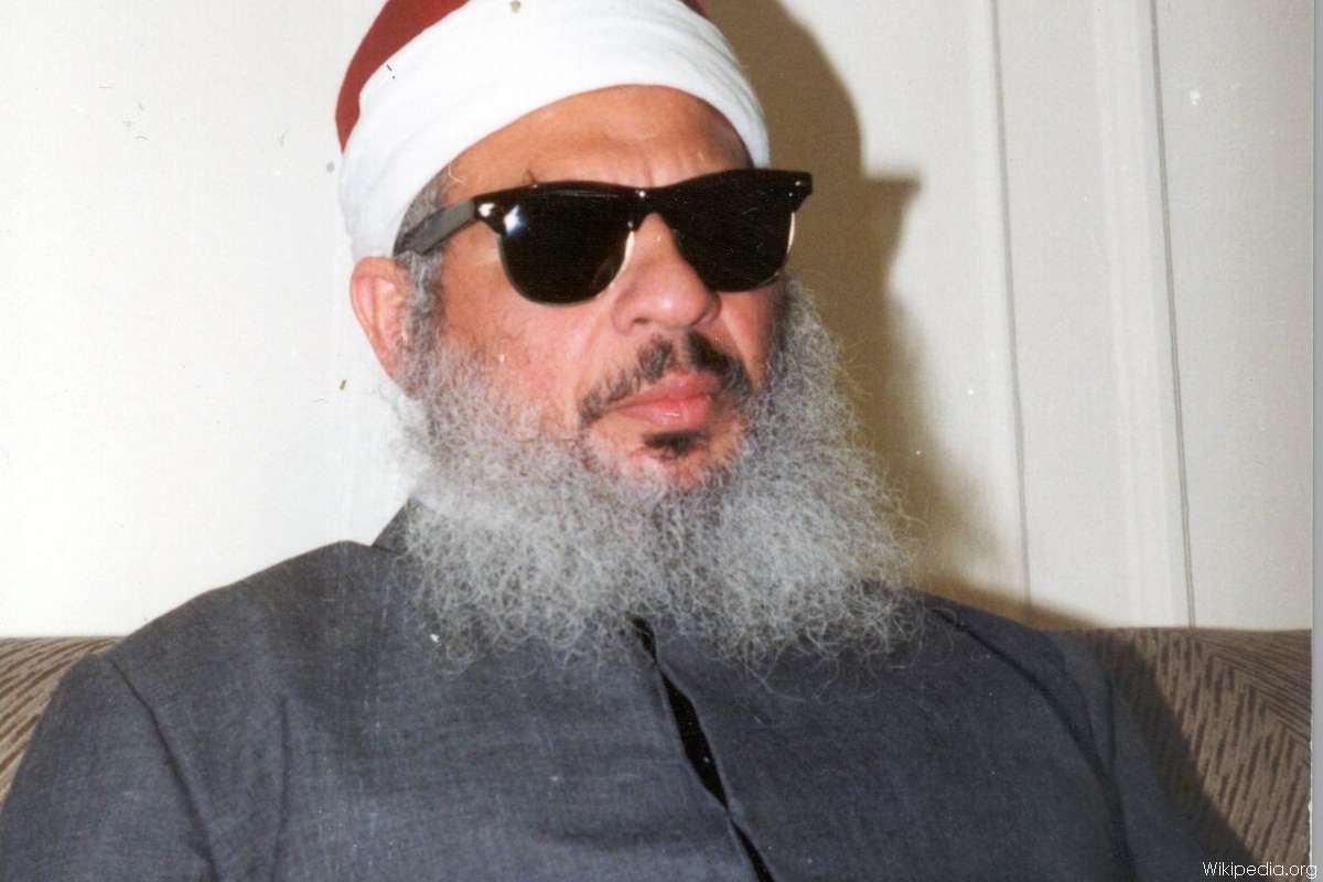 """Sheikh Omar Abdel-Rahman was commonly known as """"The Blind Sheikh"""". He was a blind Egyptian Muslim leader who was serving a life sentence in North Carolina, United States"""