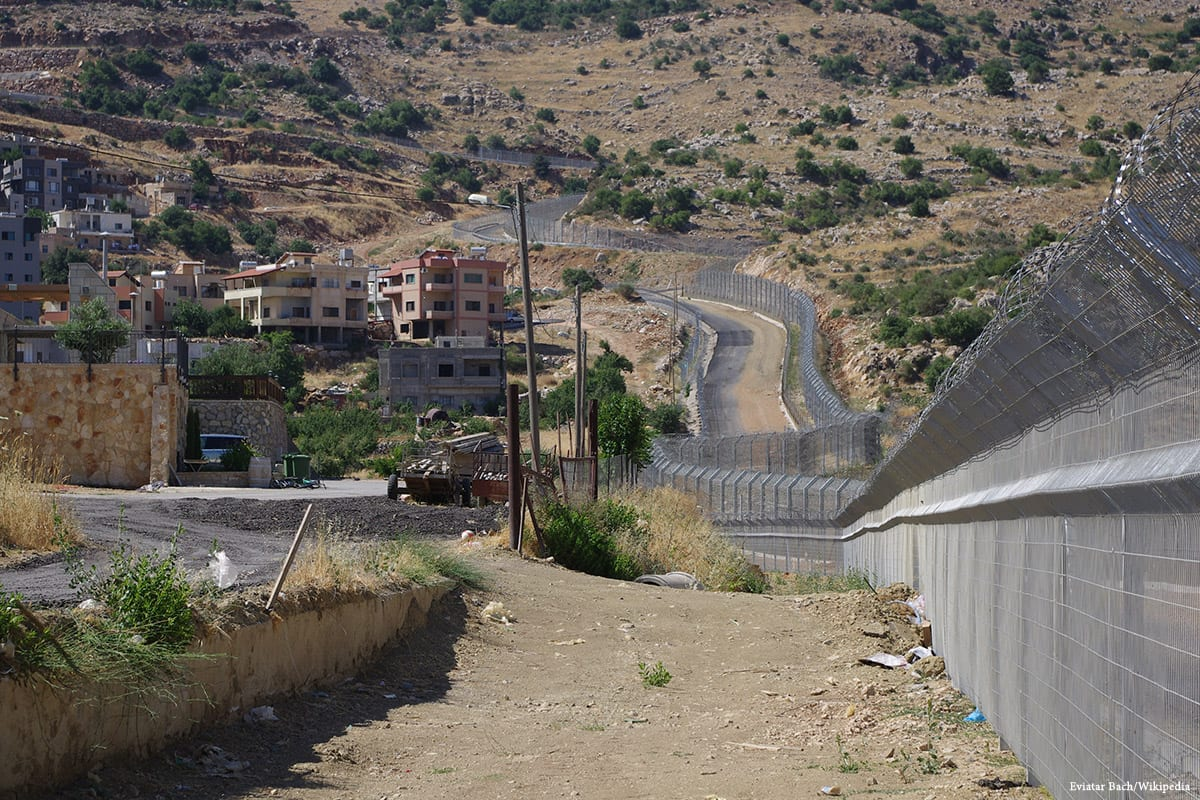 The border between Israeli occupied Golan Heights and Syria [Eviatar Bach/Wikipedia]