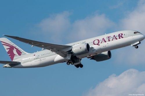 Qatar Airways plane [Julian Herzog/Wikipedia]