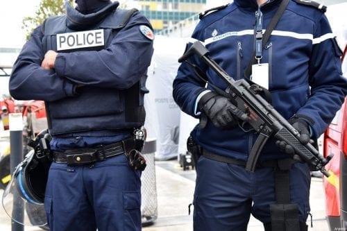French policemen in Paris, France on 18 March 2017 [Mustafa Yalçın/Anadolu Agency]