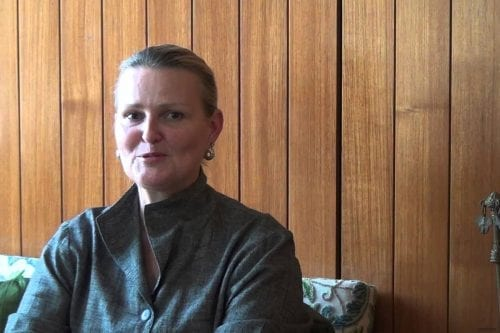 Image of UN Humanitarian Coordinator for Iraq, Lise Grande [YouTube]
