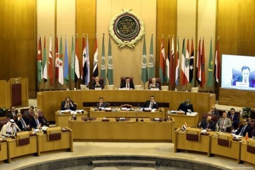 Image of the 147th session of the Arab League Council at the level of foreign ministers in Cairo, Egypt on 7 March 2017 [Ahmed Gamil/Anadolu Agency]