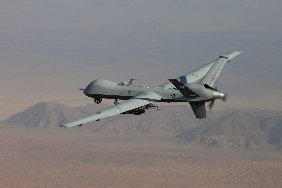File photo of a US drone [Air ForcePhoto / Lt. Col. Leslie Pratt]