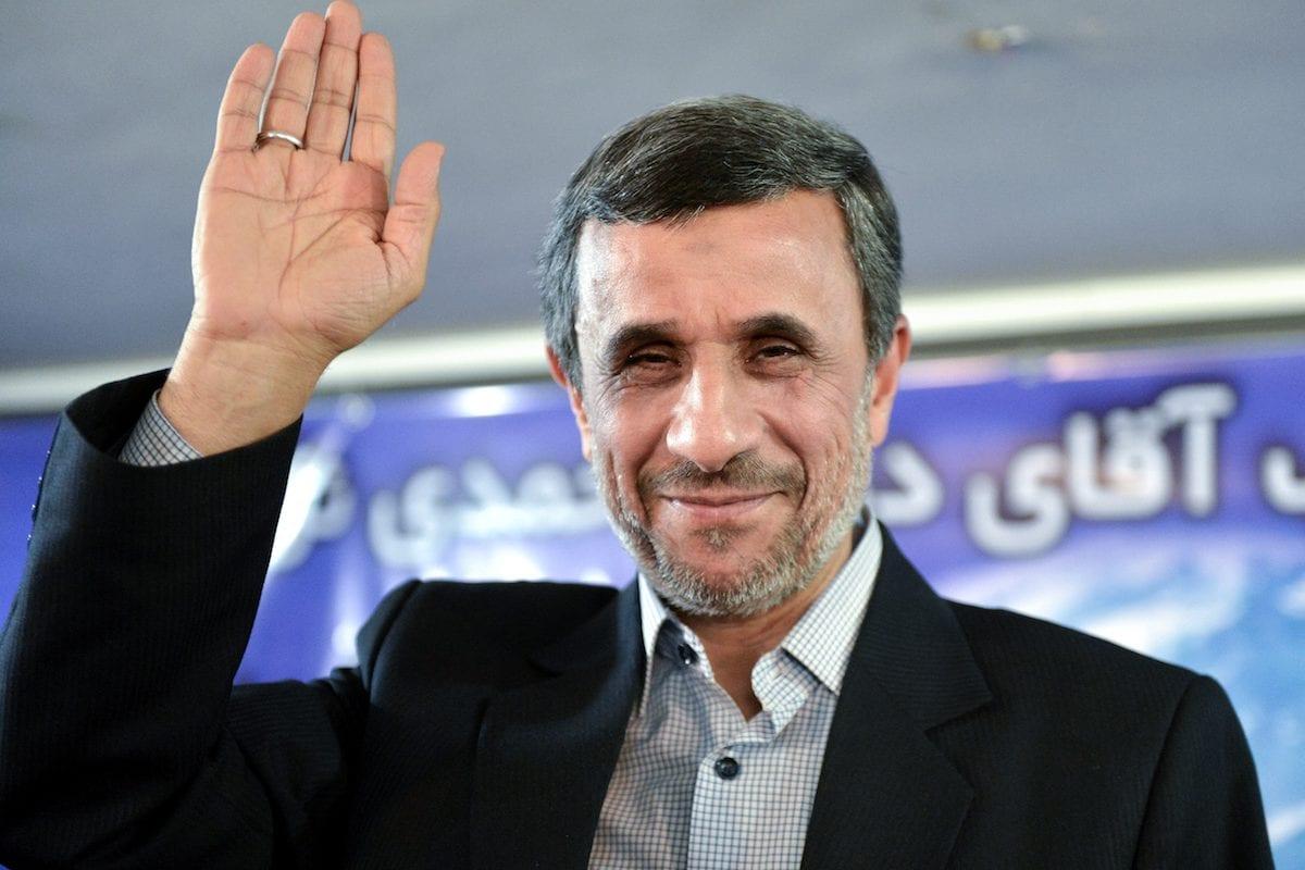 Image of Former President of Iran Mahmoud Ahmedinejad in Tehran, Iran on 5 April , 2017 ( Fatemeh Bahrami - Anadolu Agency )