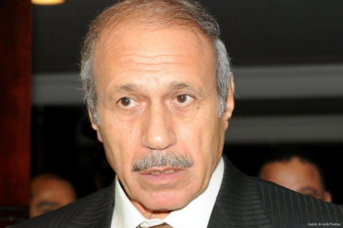 Image of Egypt's former Interior Minister, Habib Al-Adli [Habib Al-Adli/Twitter]