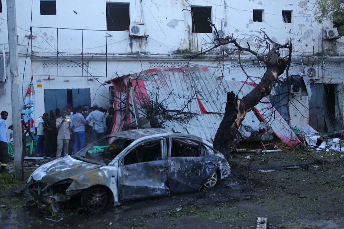Car bomb kills at least five in Somali capital