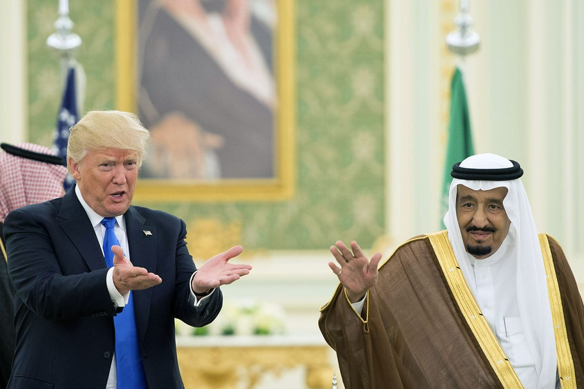 The US will proudly go to war with Iran for Saudi oil