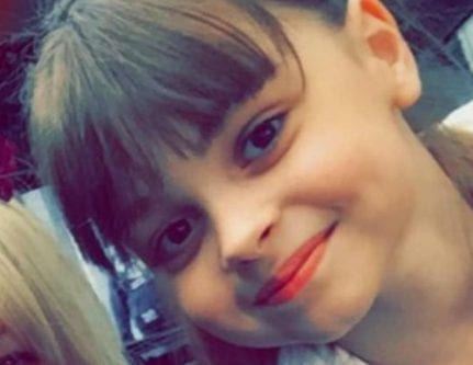 Eight-year-old Saffie Rose Roussos was killed in a Daesh suicide bombing in Manchester on 22 May 2017.