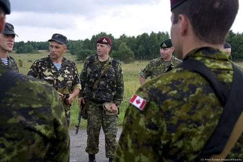 Canadian troops [US Army Europe Images/Wikipedia]