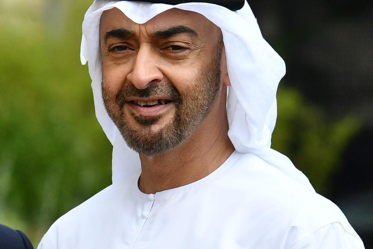 Crown Prince Mohammed Bin Zayed Al Nahyan of the United Arab Emirates [Mustafa Yalçın/Anadolu Agency]