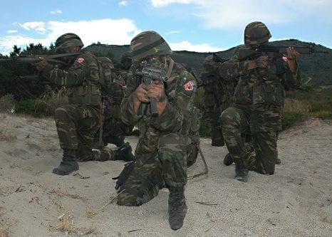 Turkish troops [US Navy]