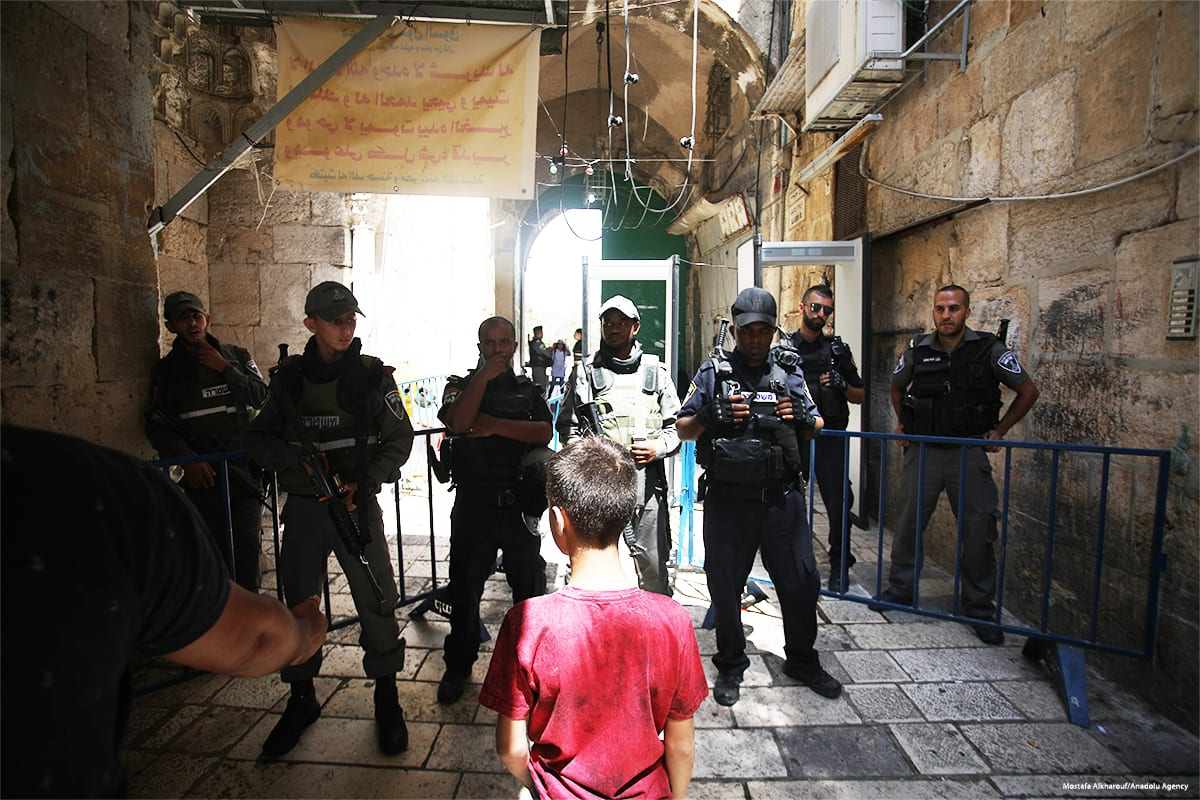 Image result for Al-Aqsa Mosque july 2017