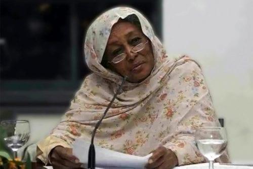 Fatima Ahmed Ibrahim, Sudan's first female MP
