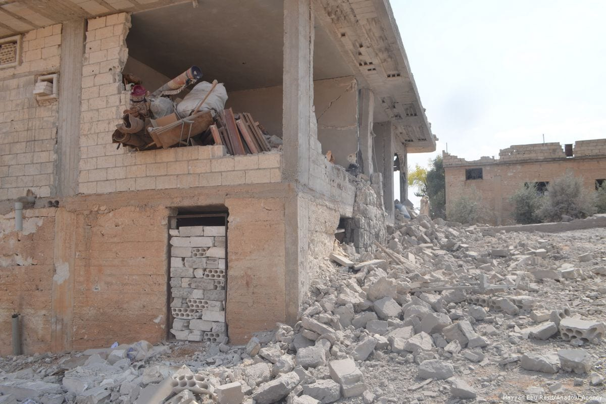 Assad's Airstrikes Hit A Primary School