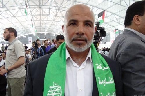 Major General Tawfiq Abu Naim, the General Commander of Internal Security Forces in Gaza, seen at an event at Soraya, Iran in 2014 [Julie Webb-Pullman]