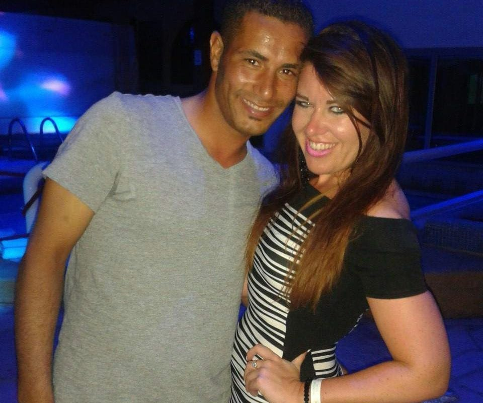 33 year old Brit, Laura Plummer with her Egyptian 'husband' Omar Caboo