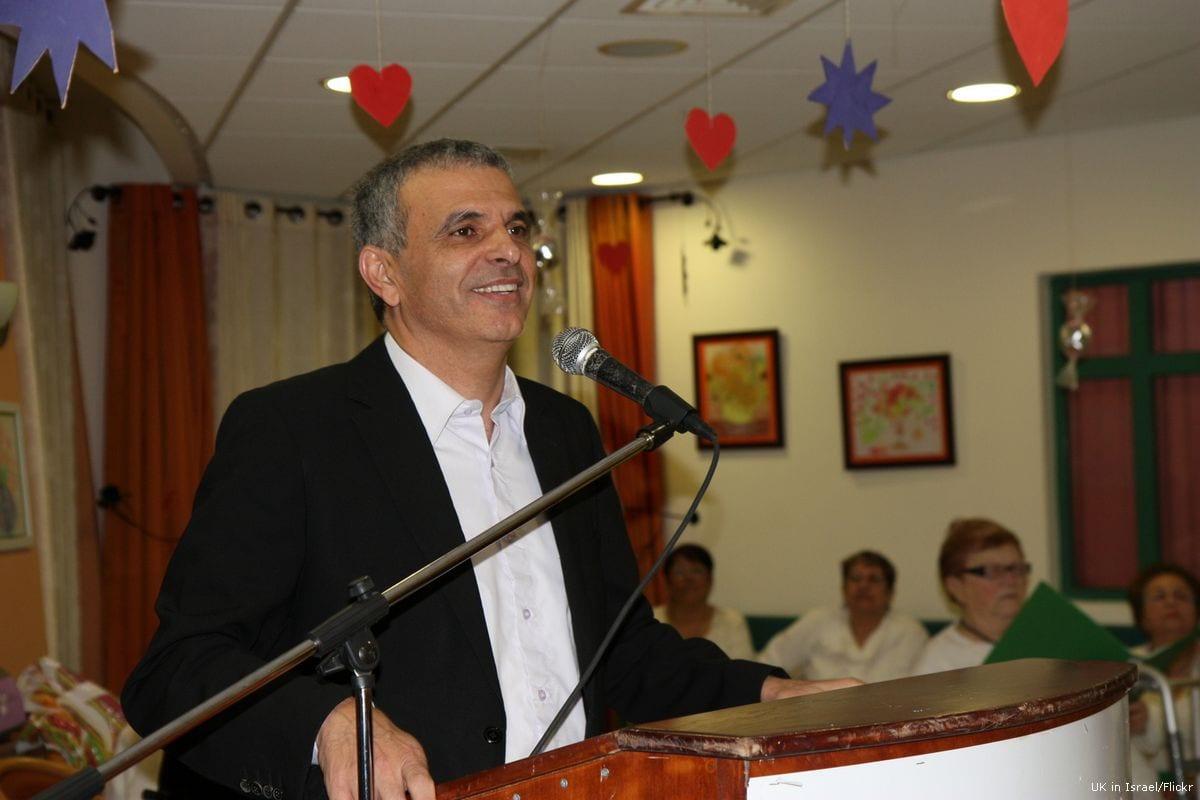 Israeli Finance Minister Moshe Kahlon [UK in Israel/Flickr]