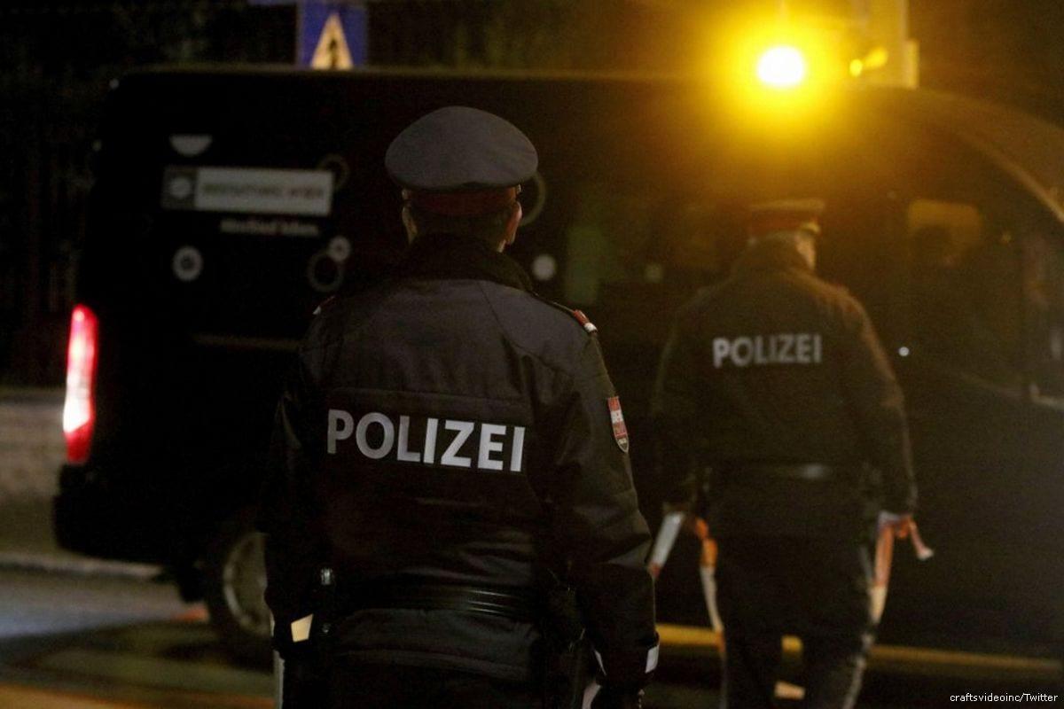 Austrian police [craftsvideoinc/Twitter]