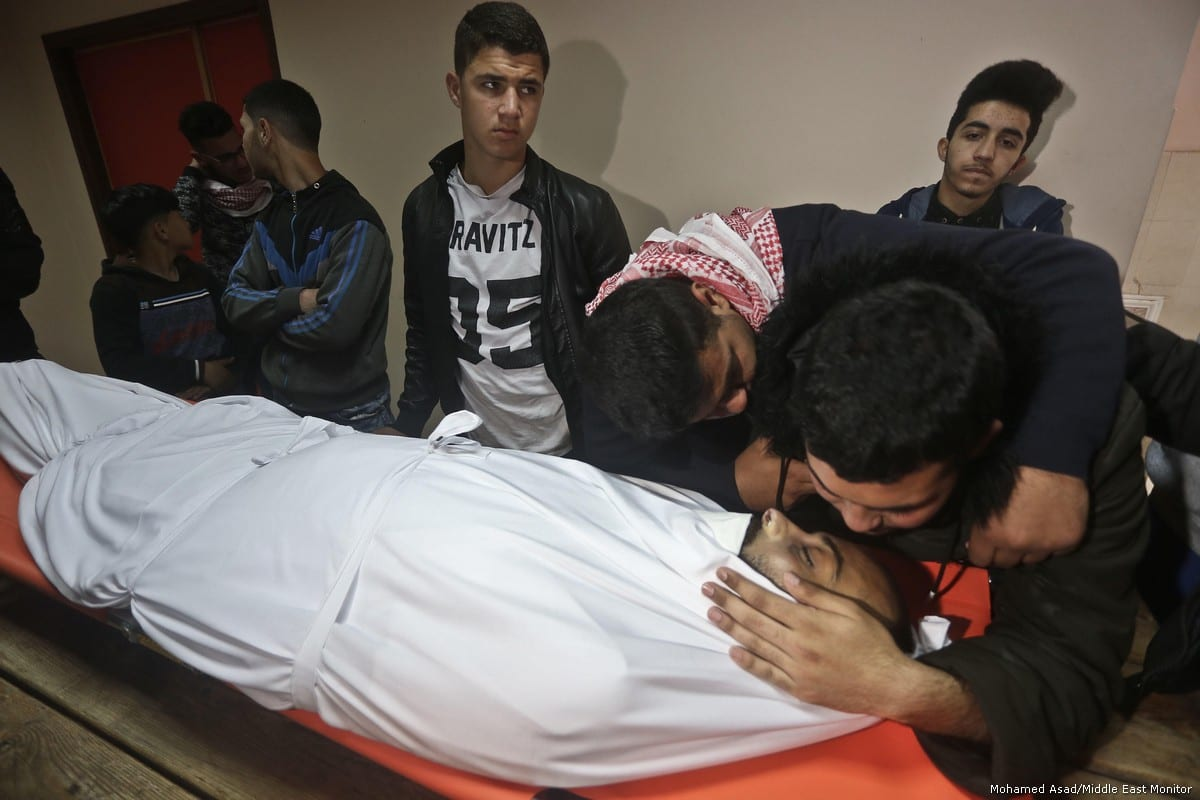 Palestinian teen shot by IDF in Gaza protests dies