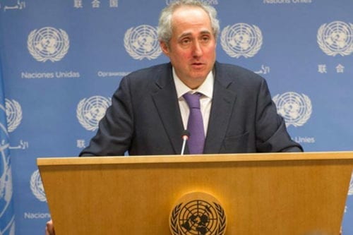 UN Secretary-General Spokesperson, Stéphane Dujarric [Wikipedia]
