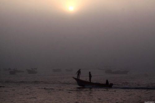 Yemeni fishermen, 11 June 2018 [Anadolu Agency]