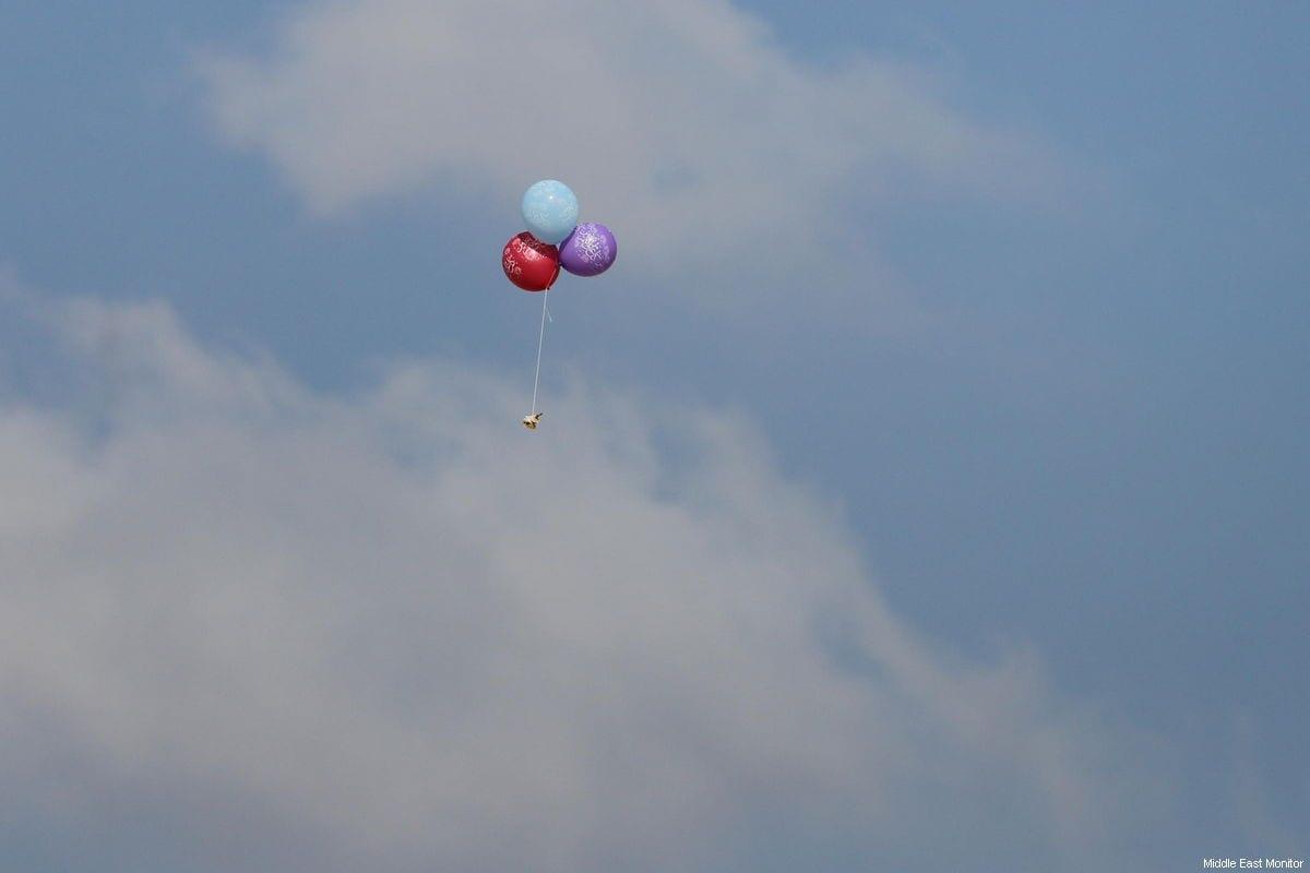 Israel avenges burning balloons with airstrikes on Gaza refugee camp