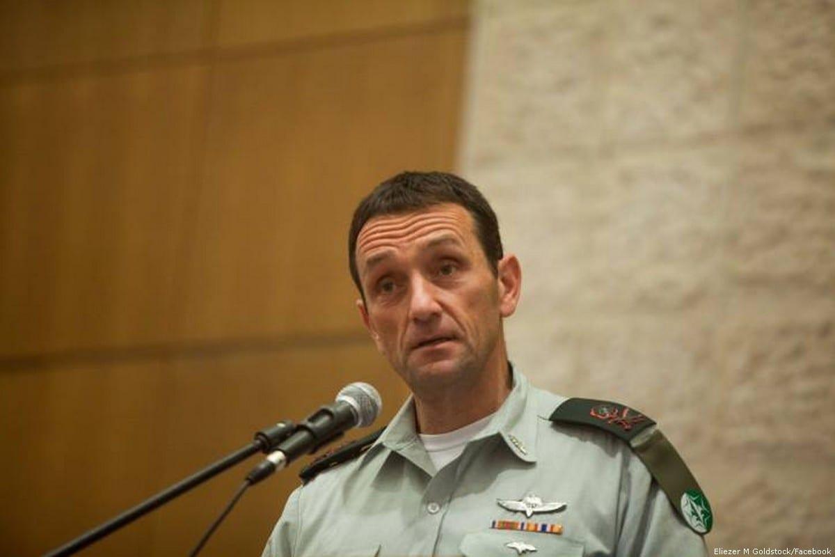 Head of the Southern Command of the Israeli Army, Herzi Halevi [Eliezer M Goldstock/Facebook]