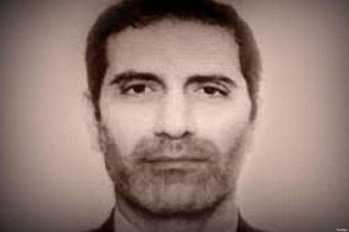 Assadollah Assadi, 46, an Iranian diplomat [Twitter]