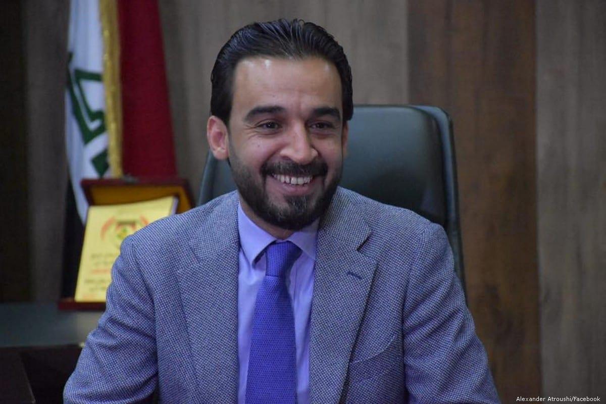 Mohammed Al-Habousi, Iraq's parliament speaker [Alexander Atroushi/Facebook]