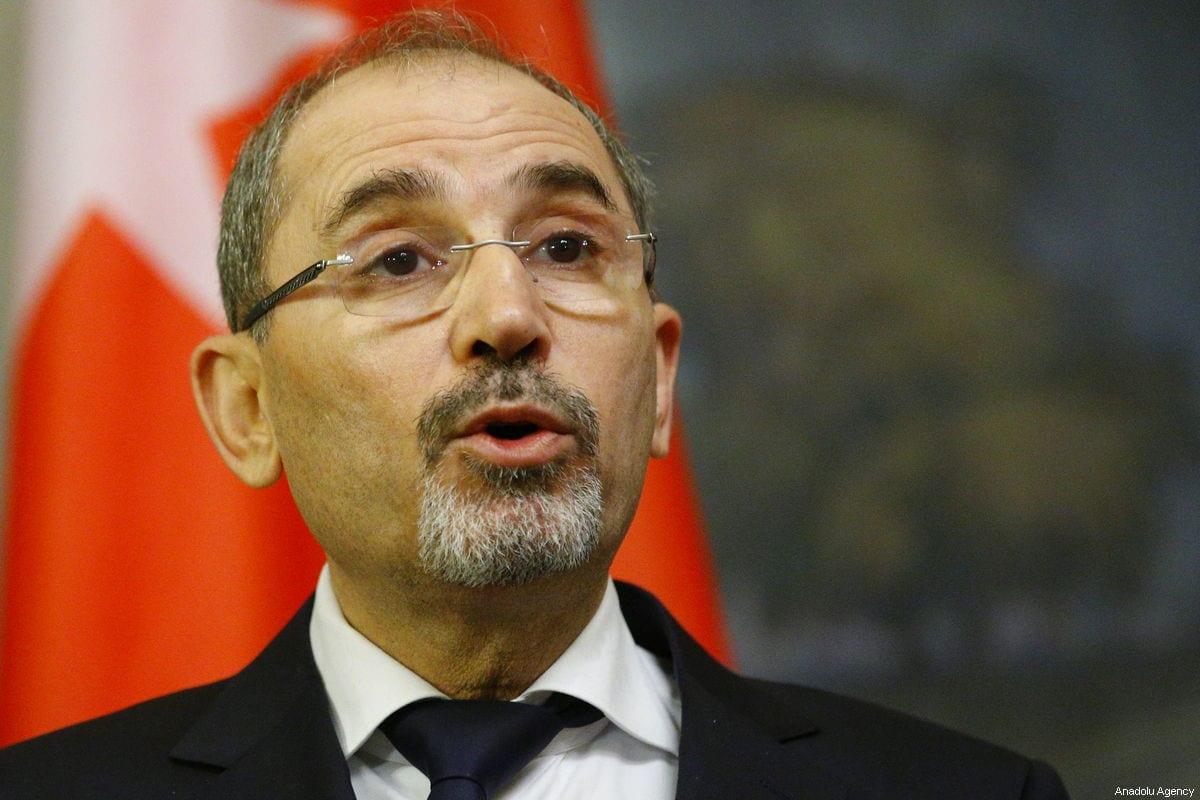 Jordan's Foreign Minister Ayman Safadi [Sefa Karacan/Anadolu Agency]