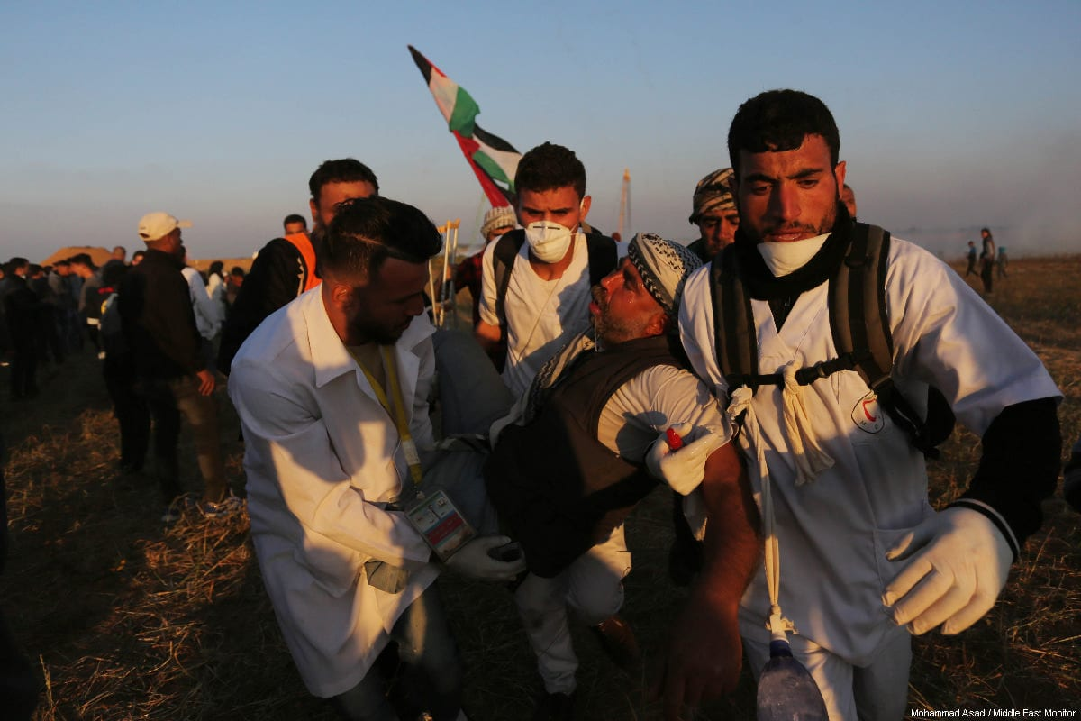 Israel deliberately wounding Palestinian civilians in Gaza