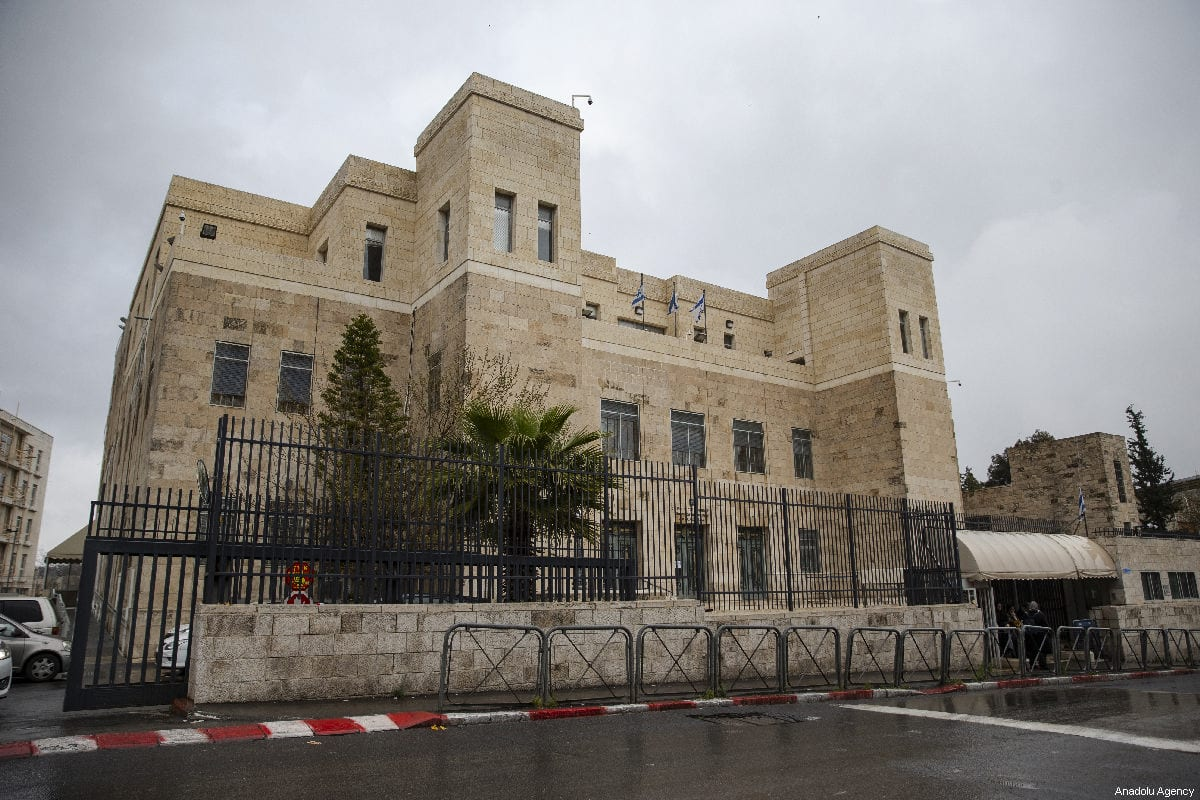 Israeli court in Jerusalem on 31 March 2019 [Faiz Abu Rmeleh/Anadolu Agency]