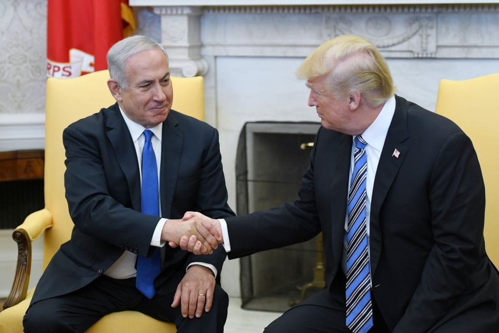 Trump says time for US to recognise Israel sovereignty over Golan