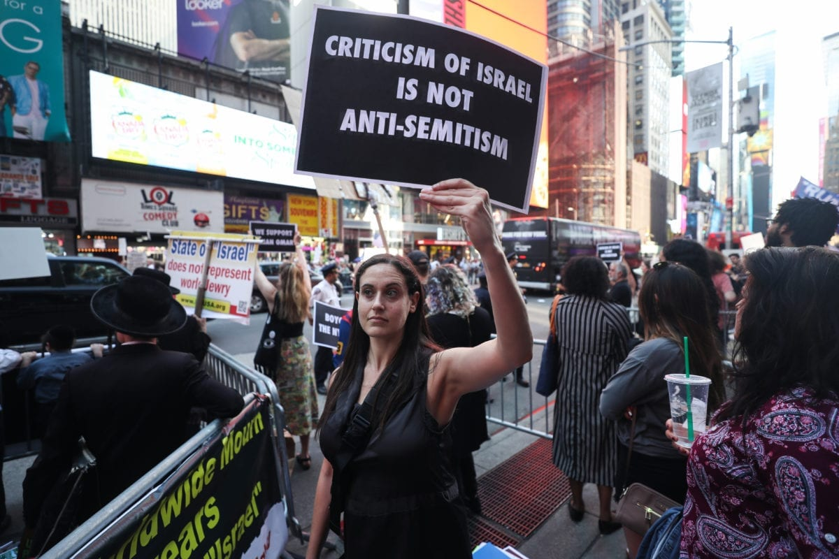 Purging critics of Israel is no way to fight anti-Semitism