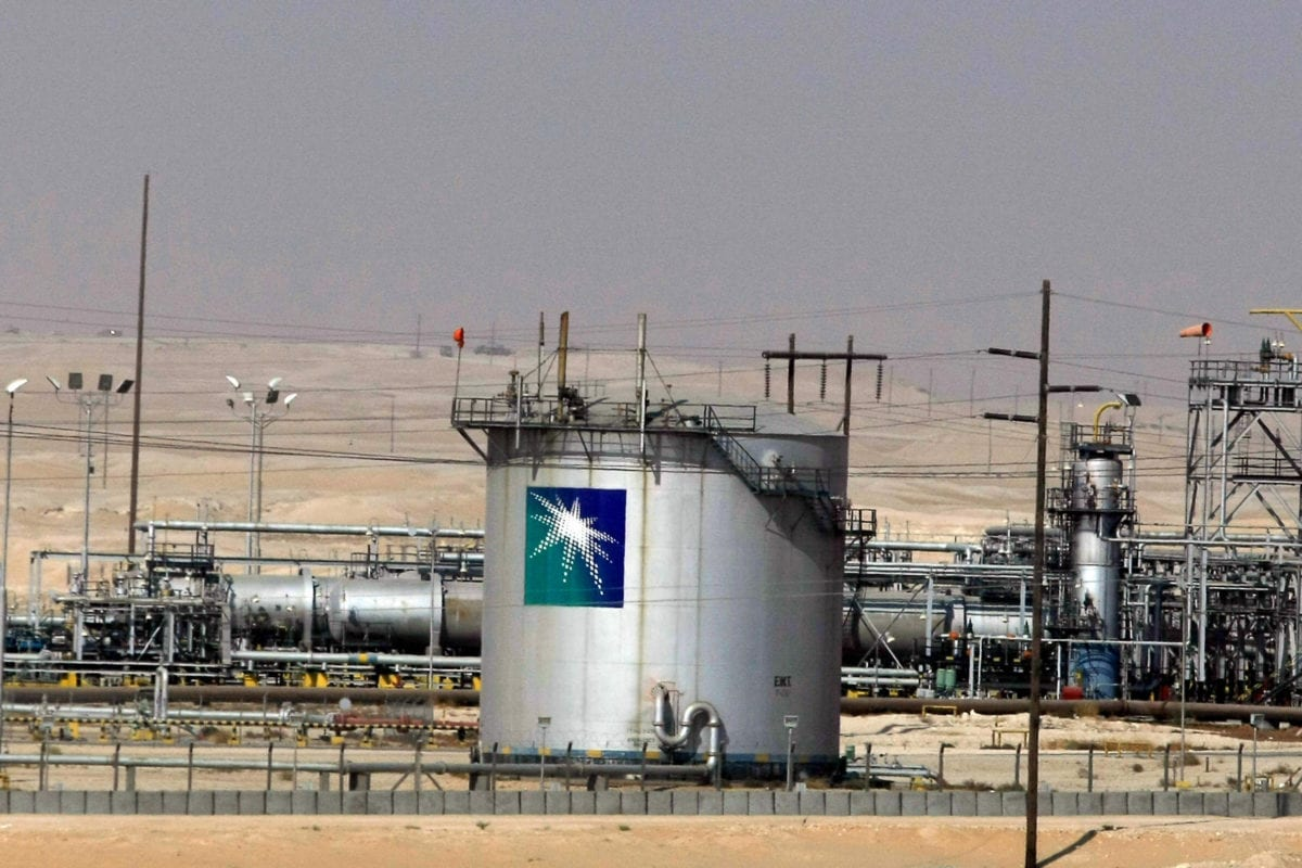 A general view shows the Saudi Aramco oil facility in Dammam city, 450 kms east of the Saudi capital Riyadh, 23 November 2007. [AFP PHOTO/HASSAN AMMAR / Getty]