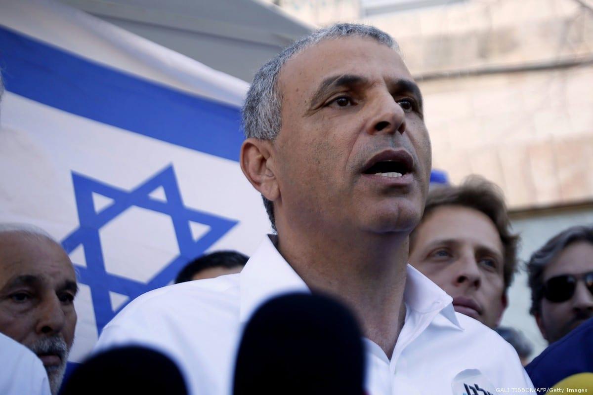 Israel's Finance Minister, Moshe Kahlon on 21 January 2015 [GALI TIBBON/AFP/Getty Images]