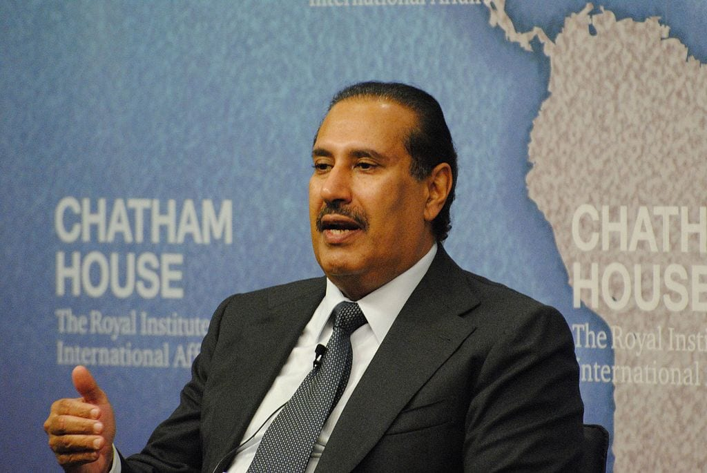 Former Qatari Prime Minister and Foreign Minister Hamad Bin Jassim [File photo]