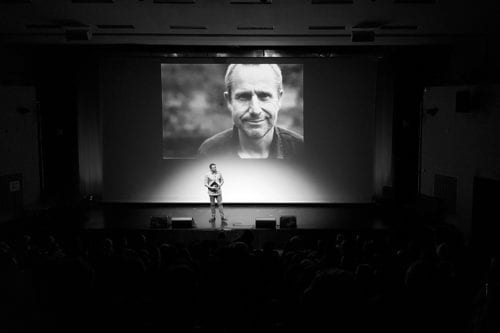 A special screening of Jeremy Hardy versus the Israeli Army in memory of British comedian and champion of Palestinian rights, Jeremy Hardy