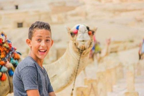 Former Egyptian child prisoner Haitham Abdel Rahim