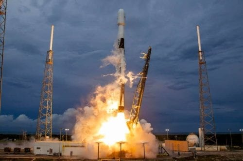The Amos-17 satellite launch in Florida, US on 6 August 2019 [Twitter]