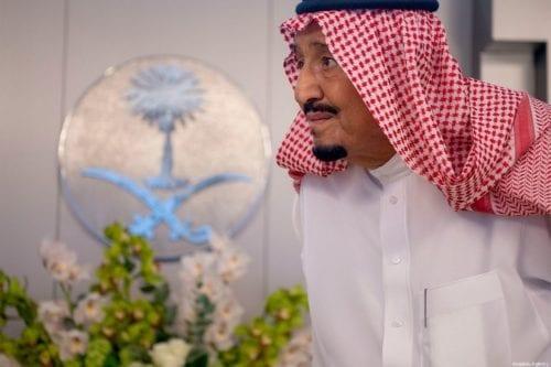King of Saudi Arabia, Salman bin Abdulaziz in Jeddah, Saudi Arabia on 25 September 2019 [Bandar Algaloud/Kingdom Council/Anadolu Agency]