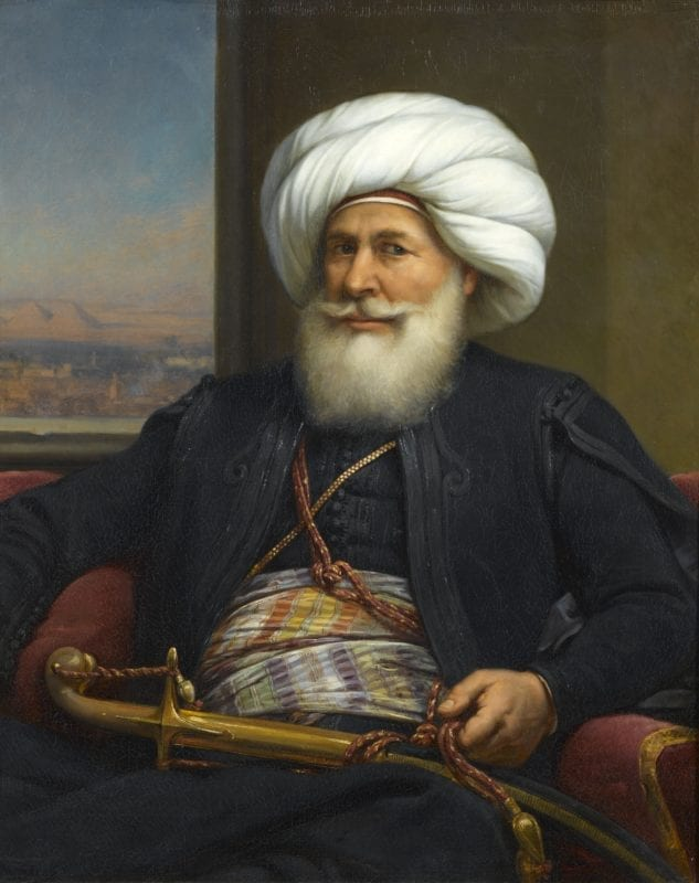 Muhammad Ali Pasha al-Mas'ud ibn Agha was the Ottoman governor of Egypt from 1805 to 1848
